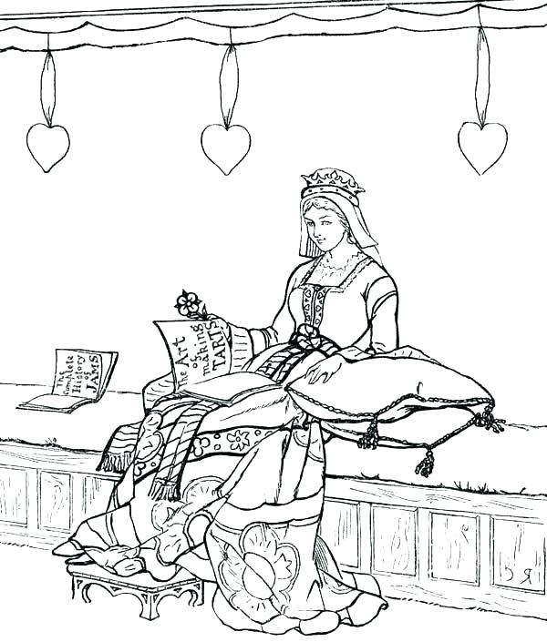 Medieval Times Coloring Pages At Getdrawings Com Free For Personal