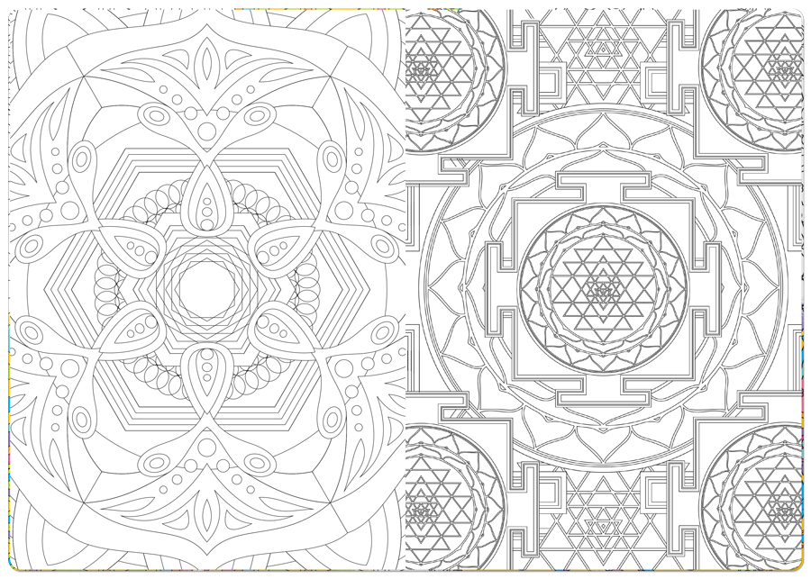 Meditation Coloring Pages At Getdrawings Com Free For Personal Use