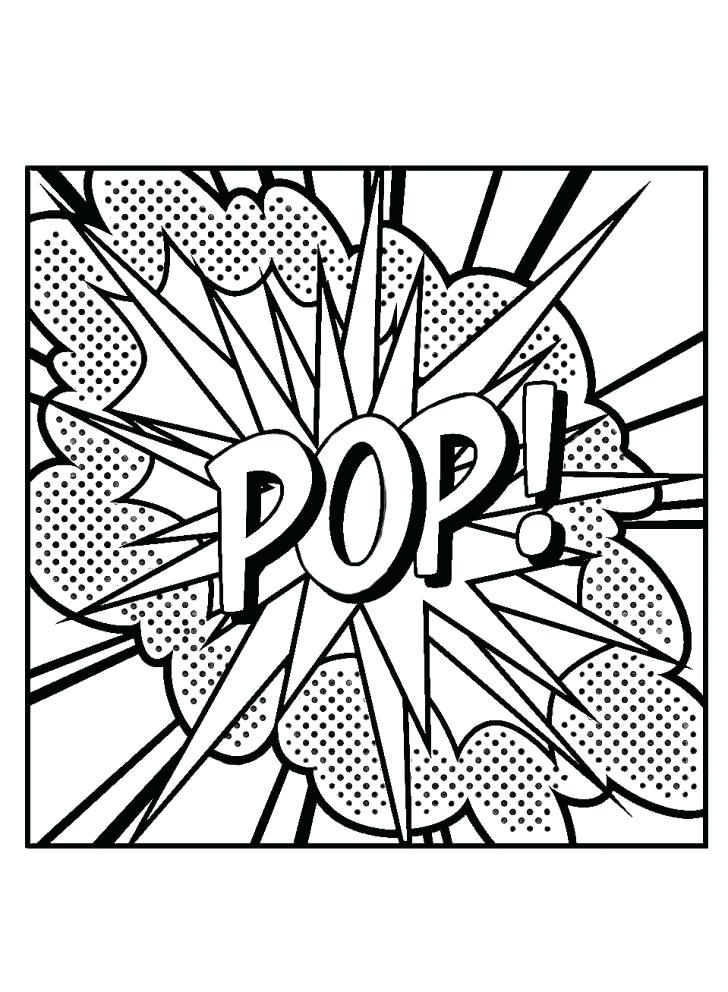 728x992 Pop Art Coloring Pages Medium Size Of Pop Art Coloring Pages