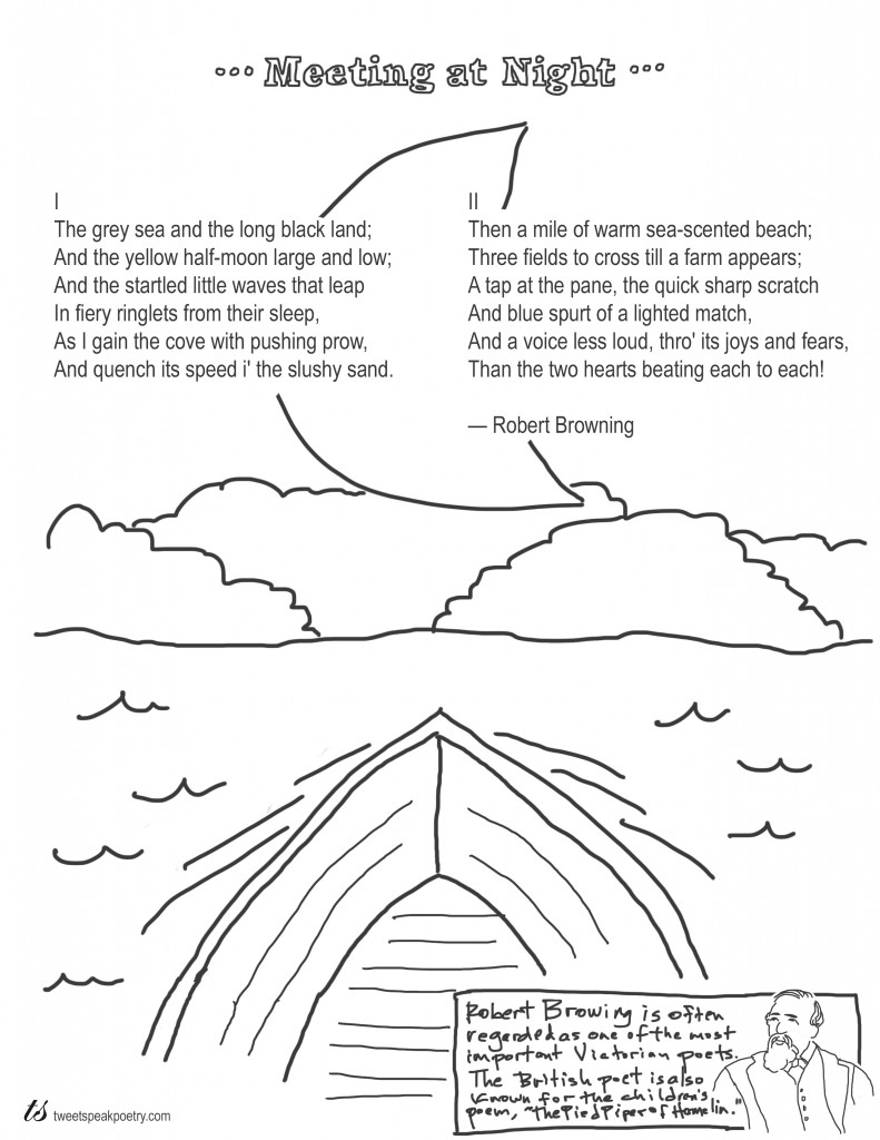 791x1024 Coloring Page Poems Meeting