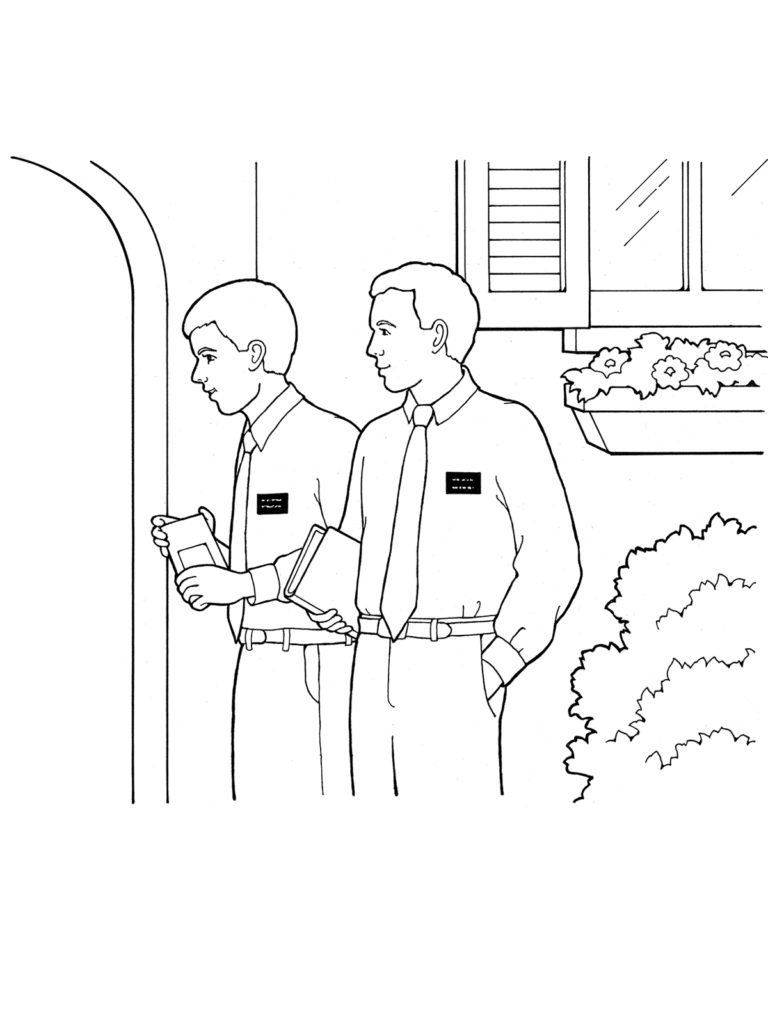 768x1024 Cool Design Ideas Lds Coloring Pages Christ Meeting The Children