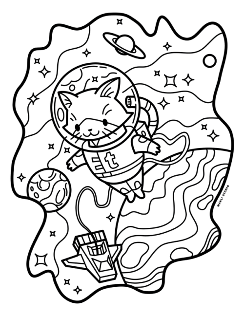 500x647 Makli Studio Recently Made Set Of Coloring Pages