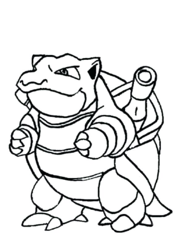 600x776 Pokemon Coloring Pages Blastoise Coloring Page Coloring Pages