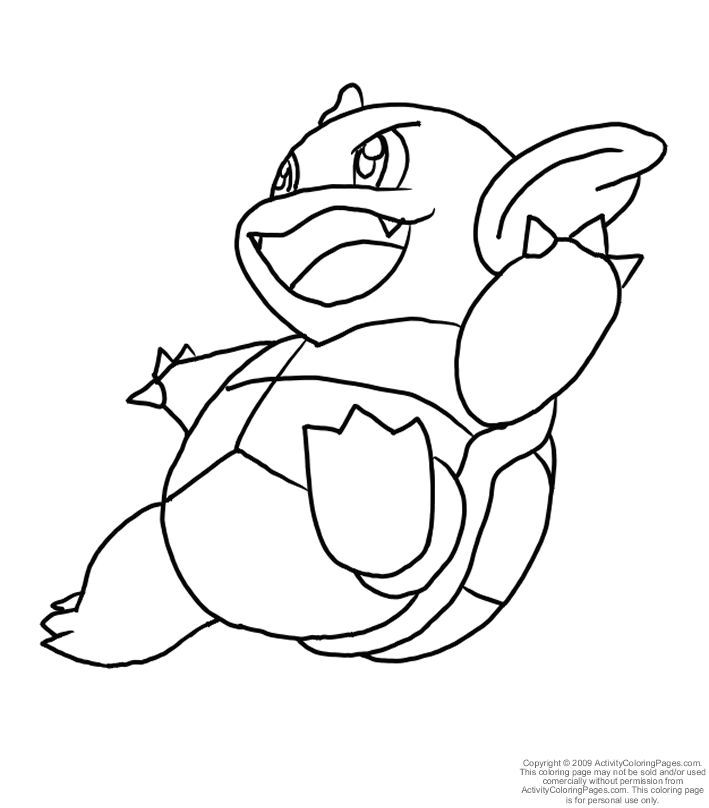 709x808 Blastoise Coloring Pages, Beautiful Learn How To Draw Blastoise