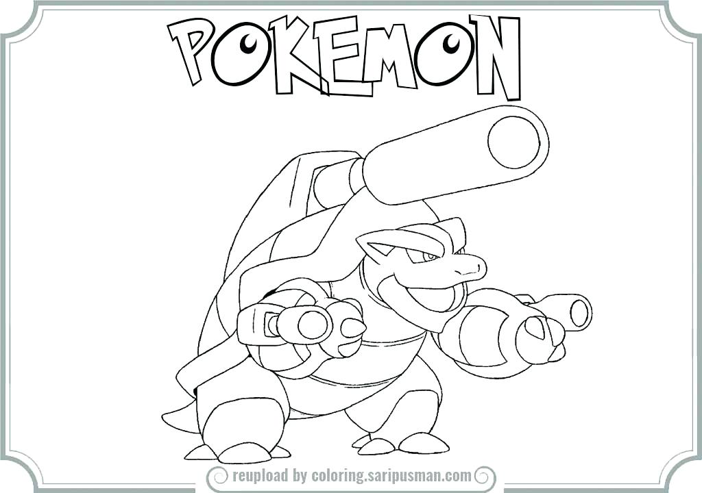 1024x720 Pokemon Coloring Pages Mega Blastoise Coloring Pages Mega Web