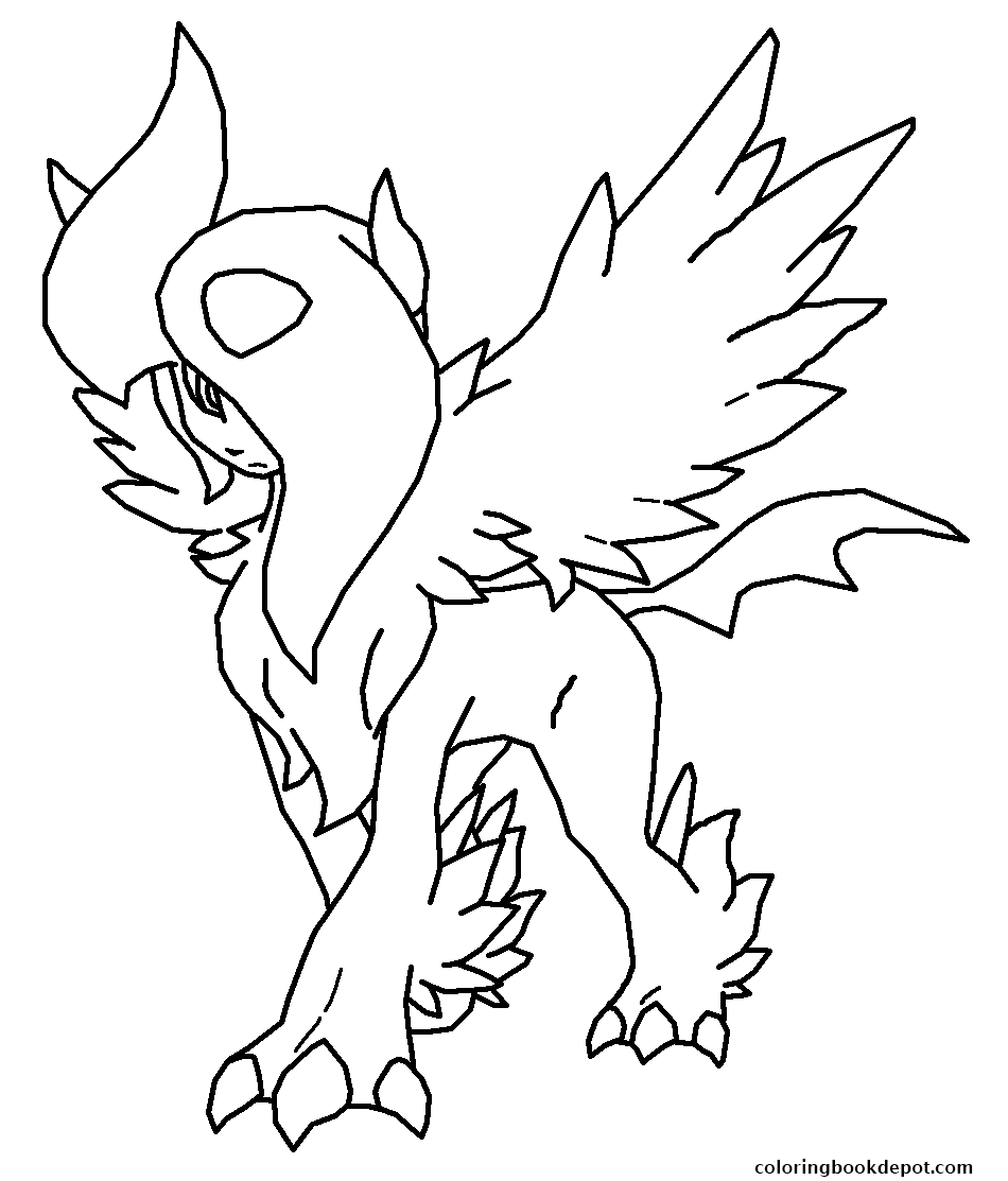 Mega Evolution Coloring Pages At Getdrawings Free Download