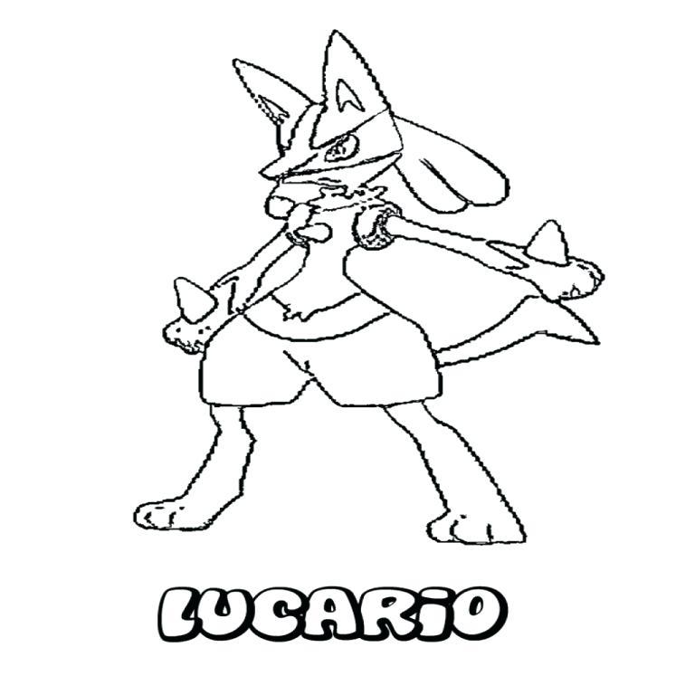 768x768 Lucario Para Colorear Fighting Coloring Pages Imagenes De Pokemon