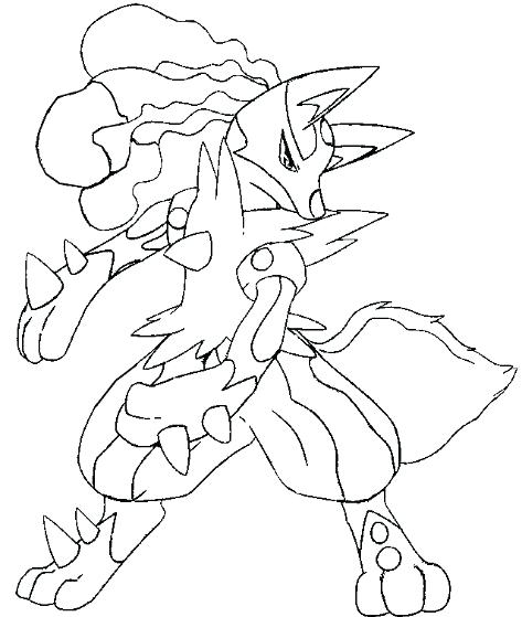 473x559 Coloring Page Free Drawing Board Weekly Coloring Pages Of Lucario