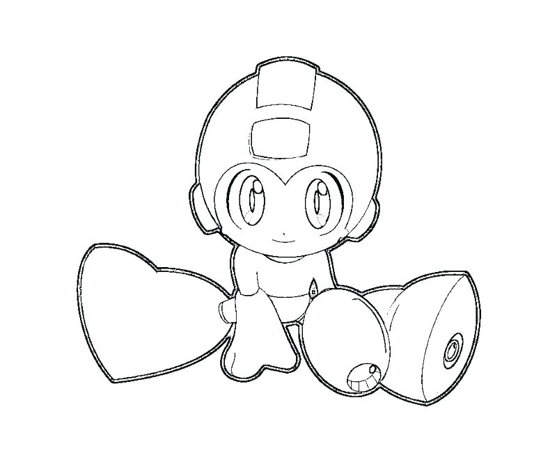 Mega Man Coloring Pages At Getdrawings Com Free For Personal Use