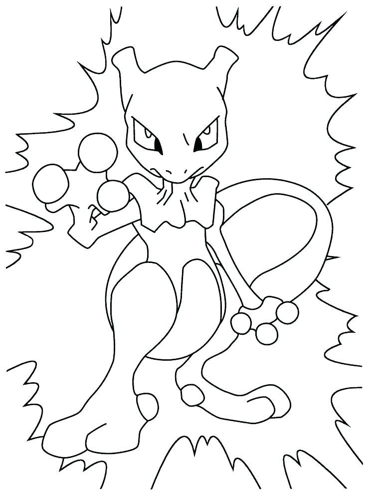 736x992 Mewtwo Para Colorear Mew Pokemon Para Colorear Mega Mewtwo