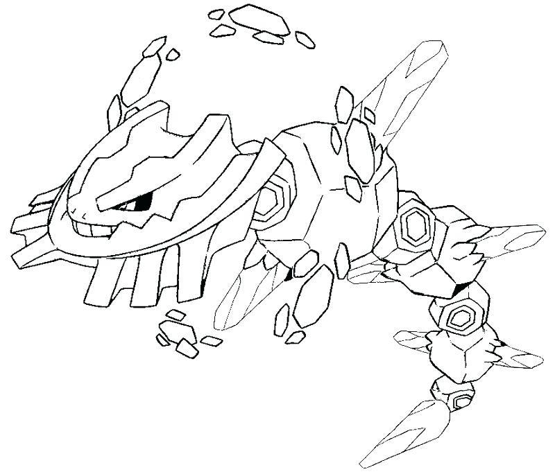 Coloring Pages Mega Evolved Pokémon - Morning Kids | 684x800