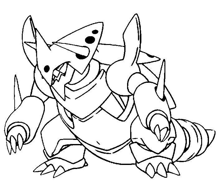 700x605 Pokemon Mega Coloring Pages Download