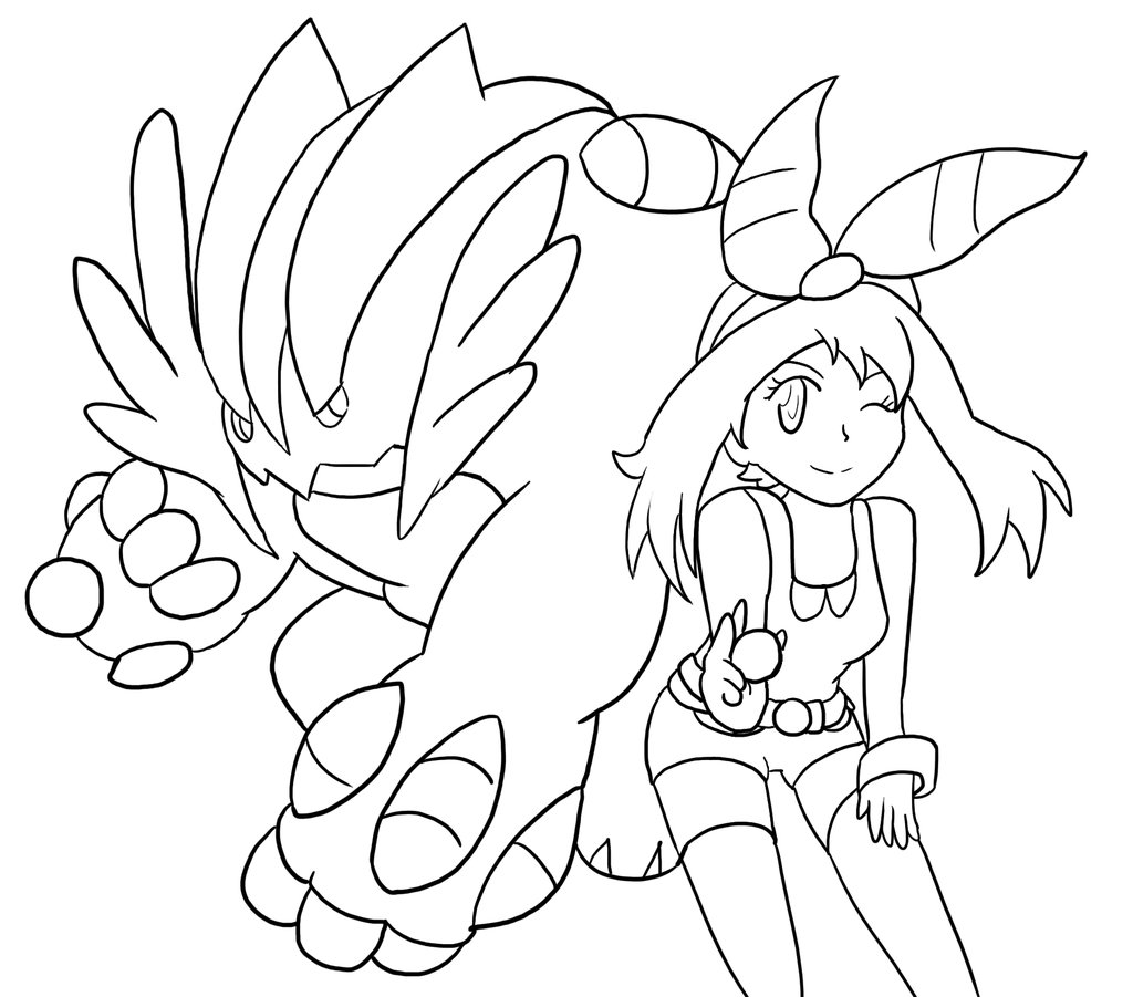 1024x901 Pokemon Swampert Coloring Pages