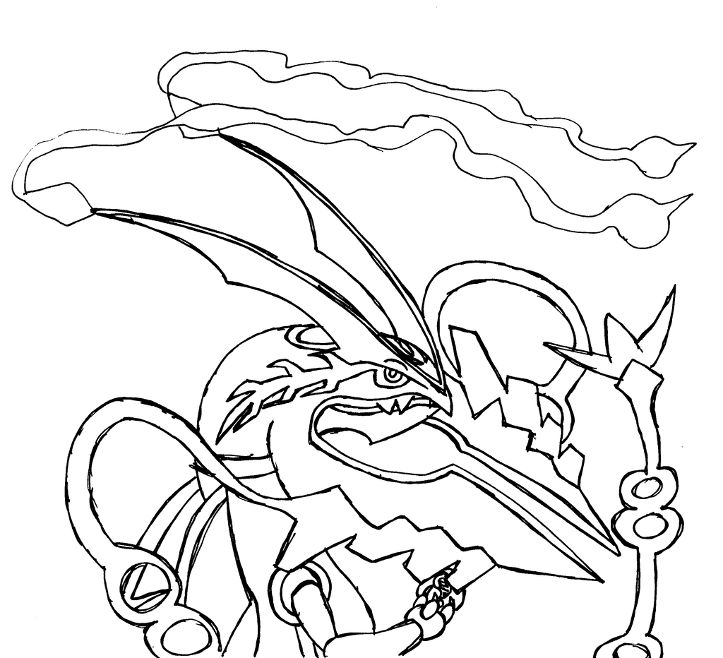 1024x932 In Mega Pokemon Coloring Pages