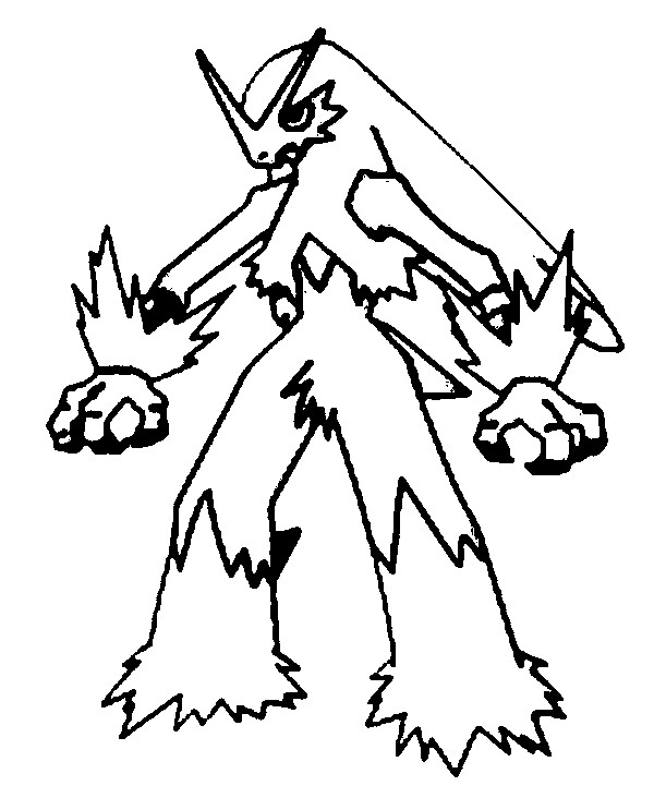 Pokemon Kleurplaten Torchic.The Best Free Blaziken Coloring Page Images Download From 113 Free