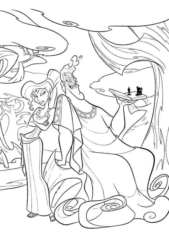 The Best Free Megara Coloring Page Images Download From 27 Free