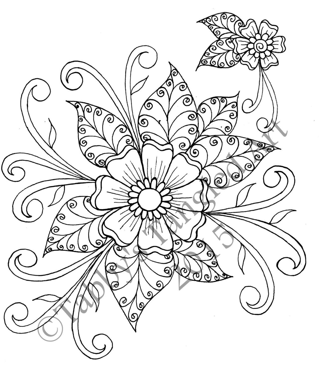 1281x1500 Mehndi Coloring Pages