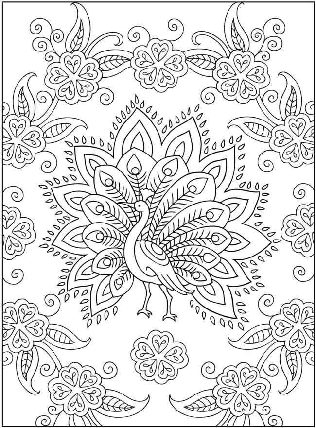 650x881 Mehndi Designs Coloring Book