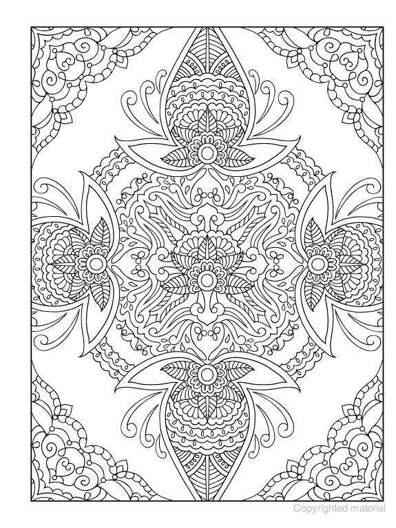 575x767 Best Mehndi Coloring Images On Print Coloring Pages