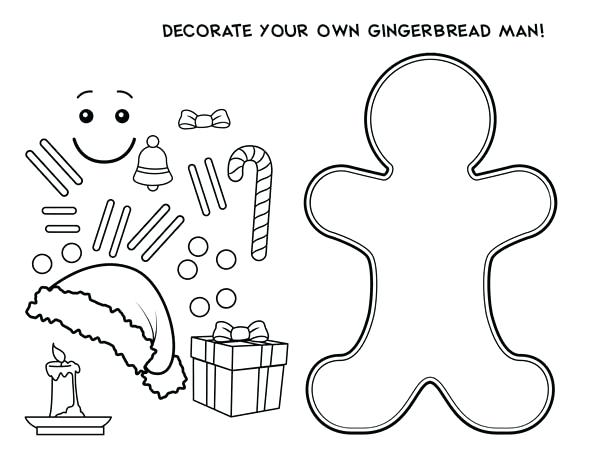 600x464 Coloring Pages Men Decorate Your Own Gingerbread Men