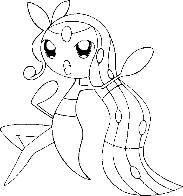 606x650 Coloring Pages Pokemon