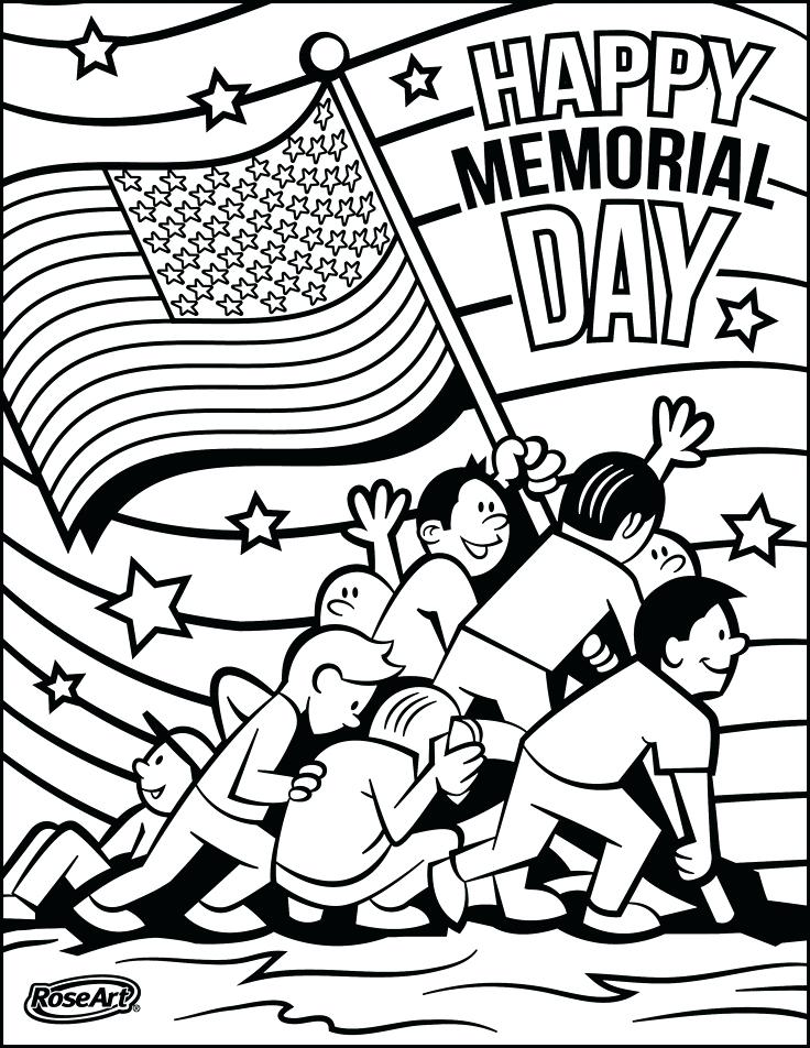 736x952 Memorial Day Coloring Pages Memorial Day Adult Coloring Pages