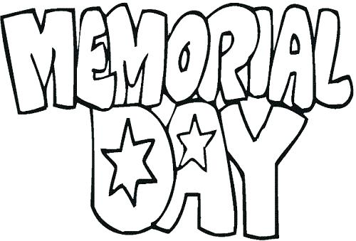 500x339 Memorial Day Coloring Pages Memorial Day Coloring Pages