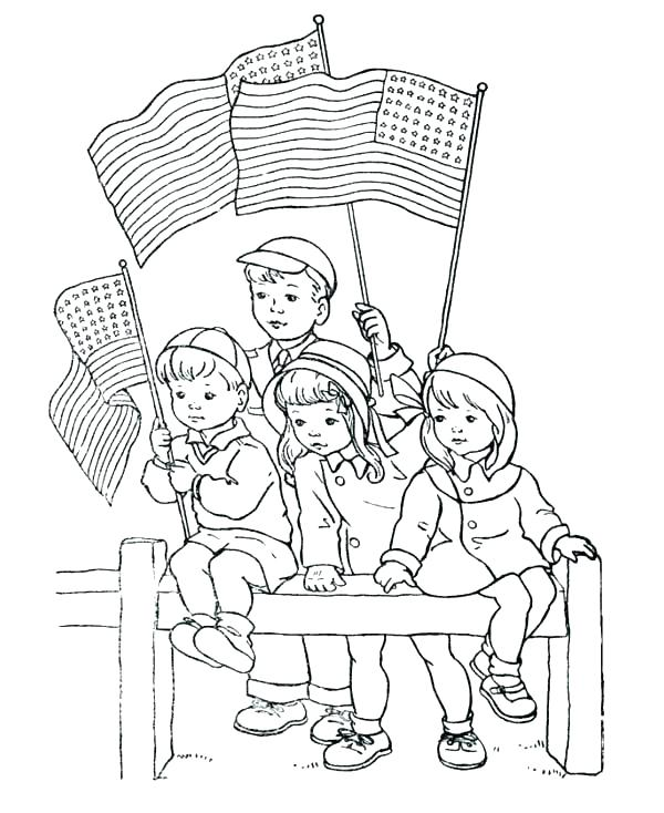 600x734 Memorial Day Coloring Pages Memorial Day Coloring Pages Free