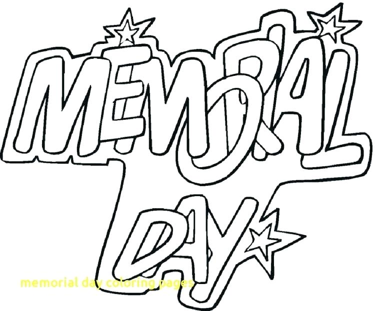 750x623 Memorial Day Coloring Pages Memorial Day Coloring Pages