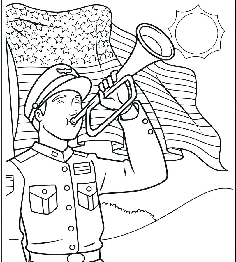 810x900 Memorial Day Coloring Pages Memorial Day Remembering All Who Died
