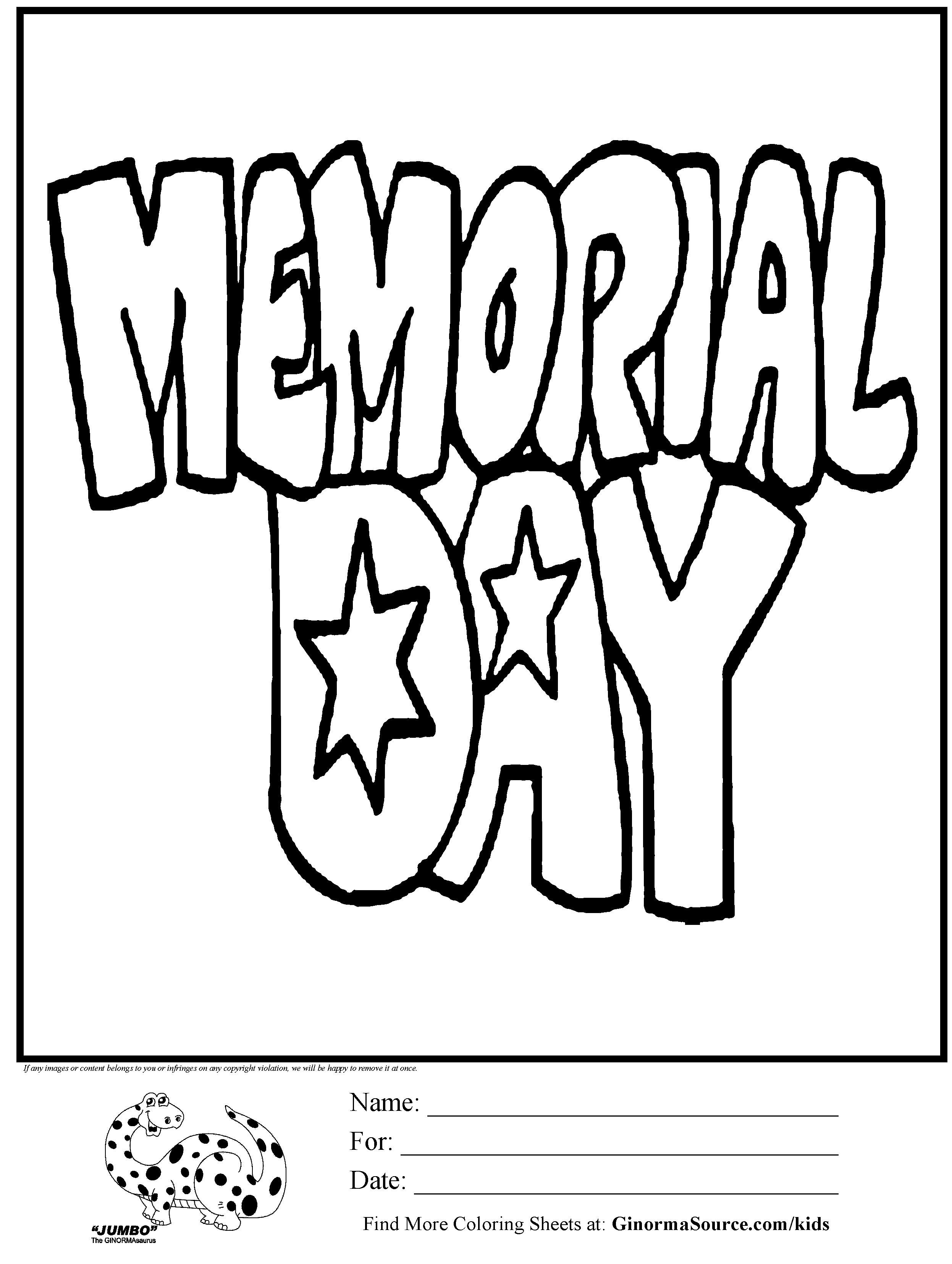 2493x3310 Beautiful Memorial Day Coloring Pages With Memorial Day Coloring