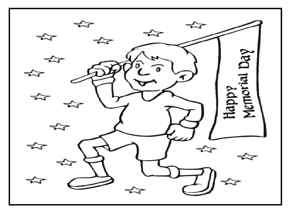 1024x737 Independence Day Coloring Pages Best Memorial Day Coloring Pages