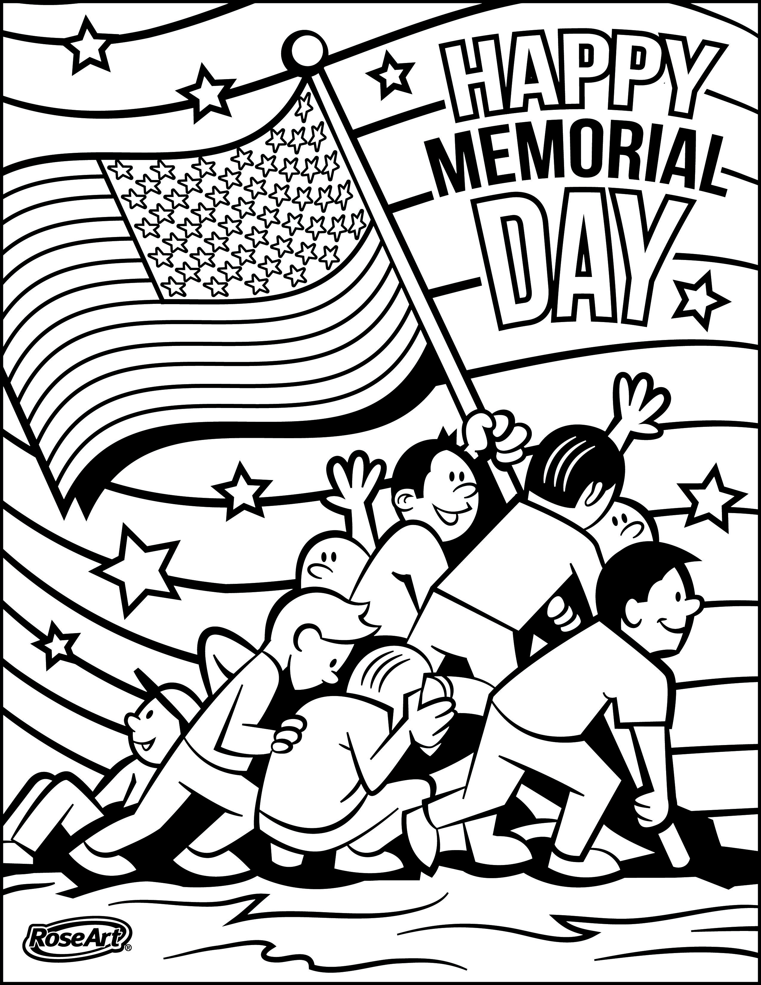 Memorial Day Coloring Pages At Getdrawings Com Free For Personal
