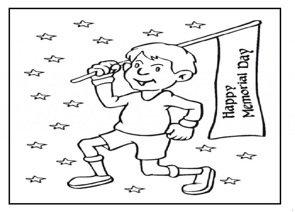 1024x737 Memorial Day Coloring Pages Best Images To Download Free Printable