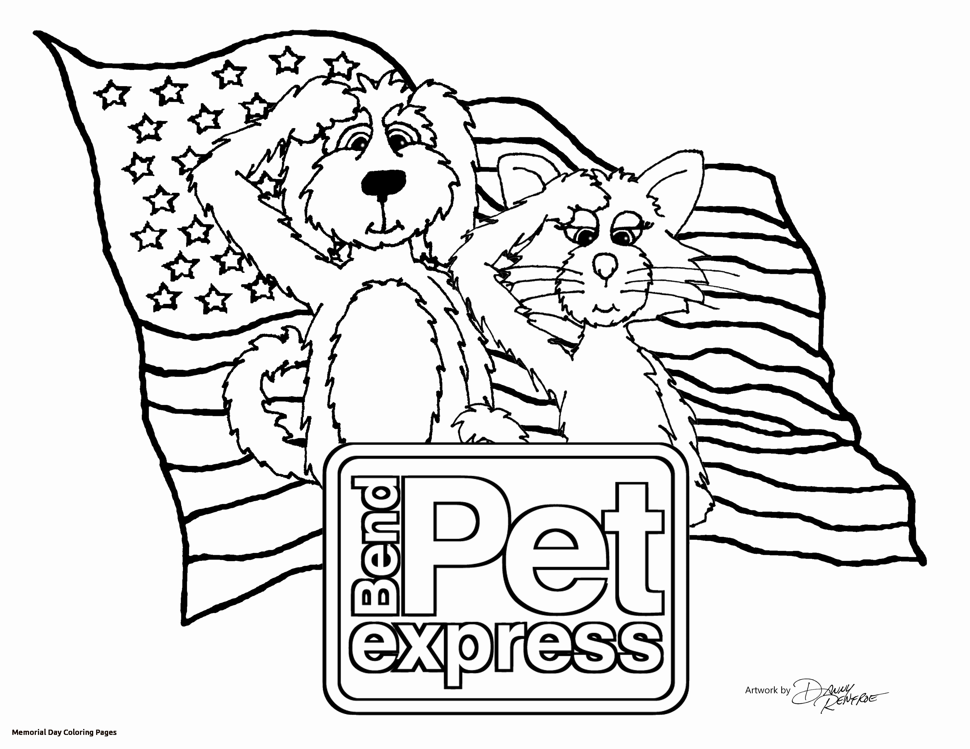 3300x2550 Memorial Day Coloring Pages For Kids