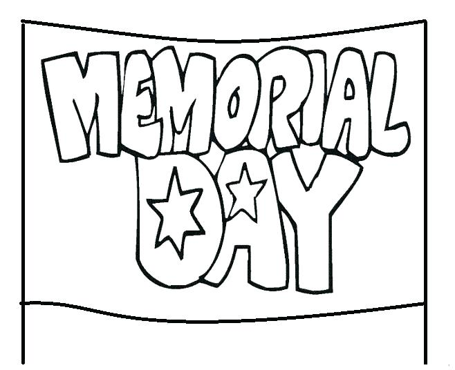 658x536 Memorial Day Coloring Pages Memorial Day Pictures To Color Good