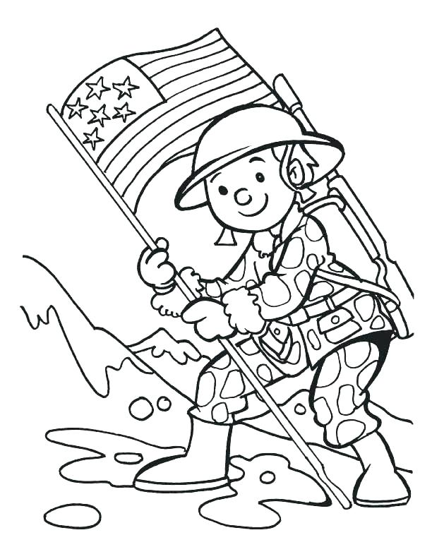 612x792 Memorial Day Coloring Pages The Sun Flower Pages Memorial Day