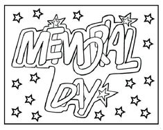 235x187 Memorial Day Coloring Pages For Kids