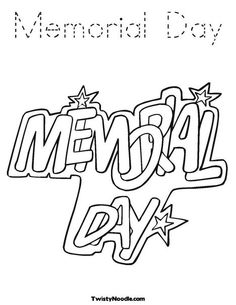 236x305 Memorial Day Coloring Page