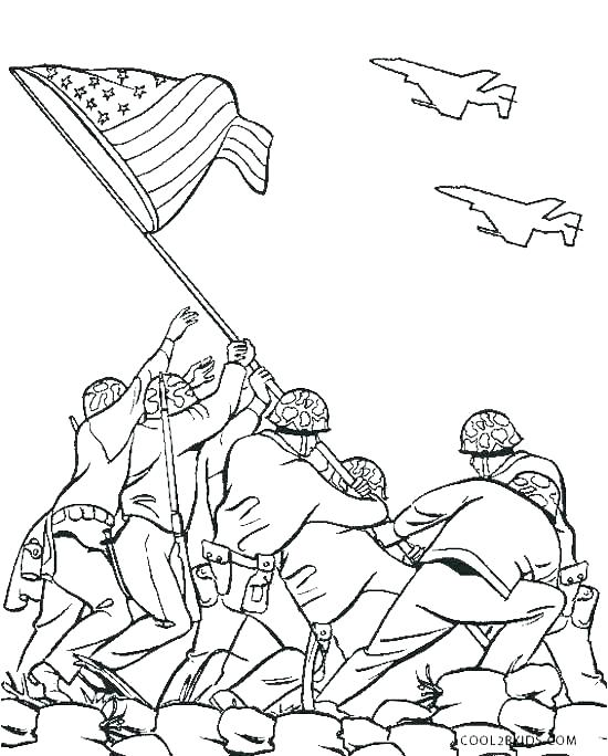550x684 Memorial Day Coloring Pages For Kids Yongtjun