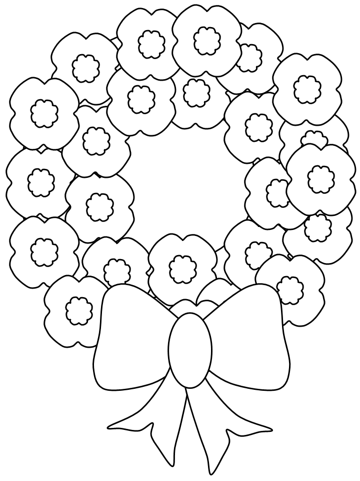 720x960 Happy Memorial Day Coloring Pages