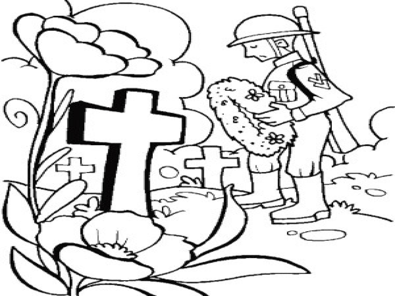 Memorial Day Coloring Pages Printable At Getdrawings Com Free For