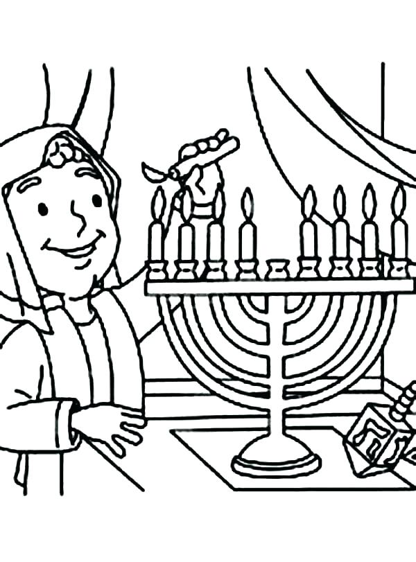 600x811 Menorah Coloring Page Menorah Connect The Dots Free Printable