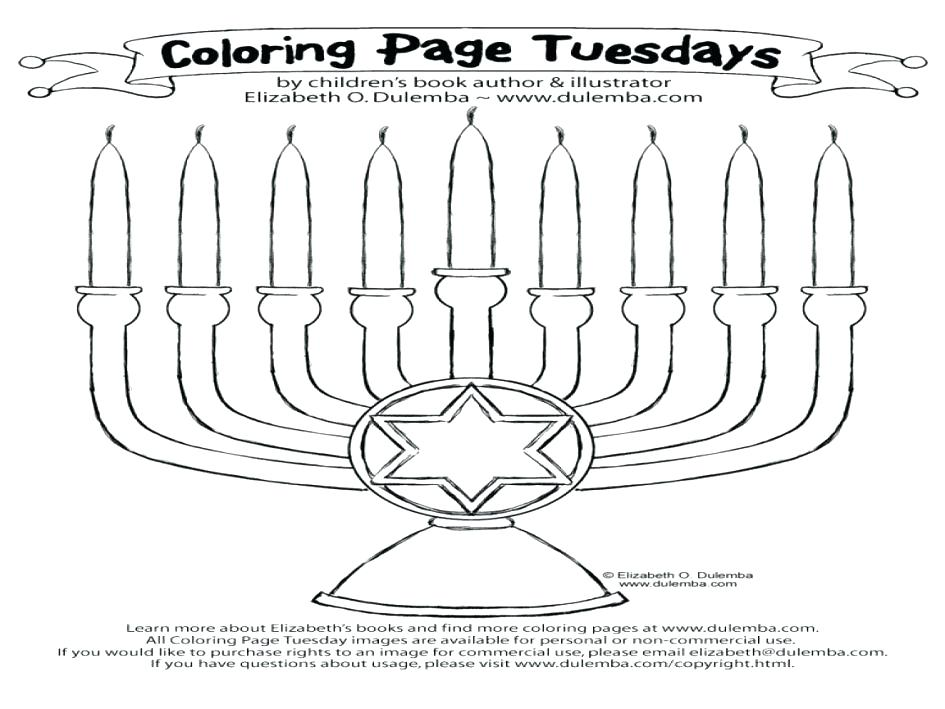 945x709 Menorah Coloring Page Related Post Menorah Coloring Page