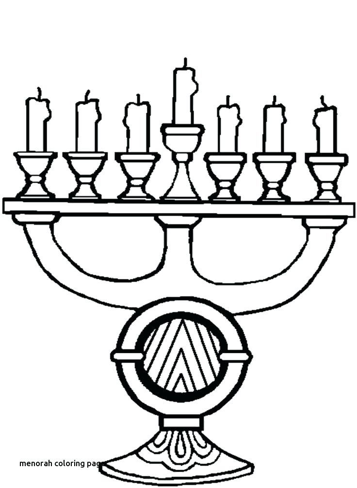736x1005 Menorah Coloring Pages Best Images On For Menorah Coloring Page