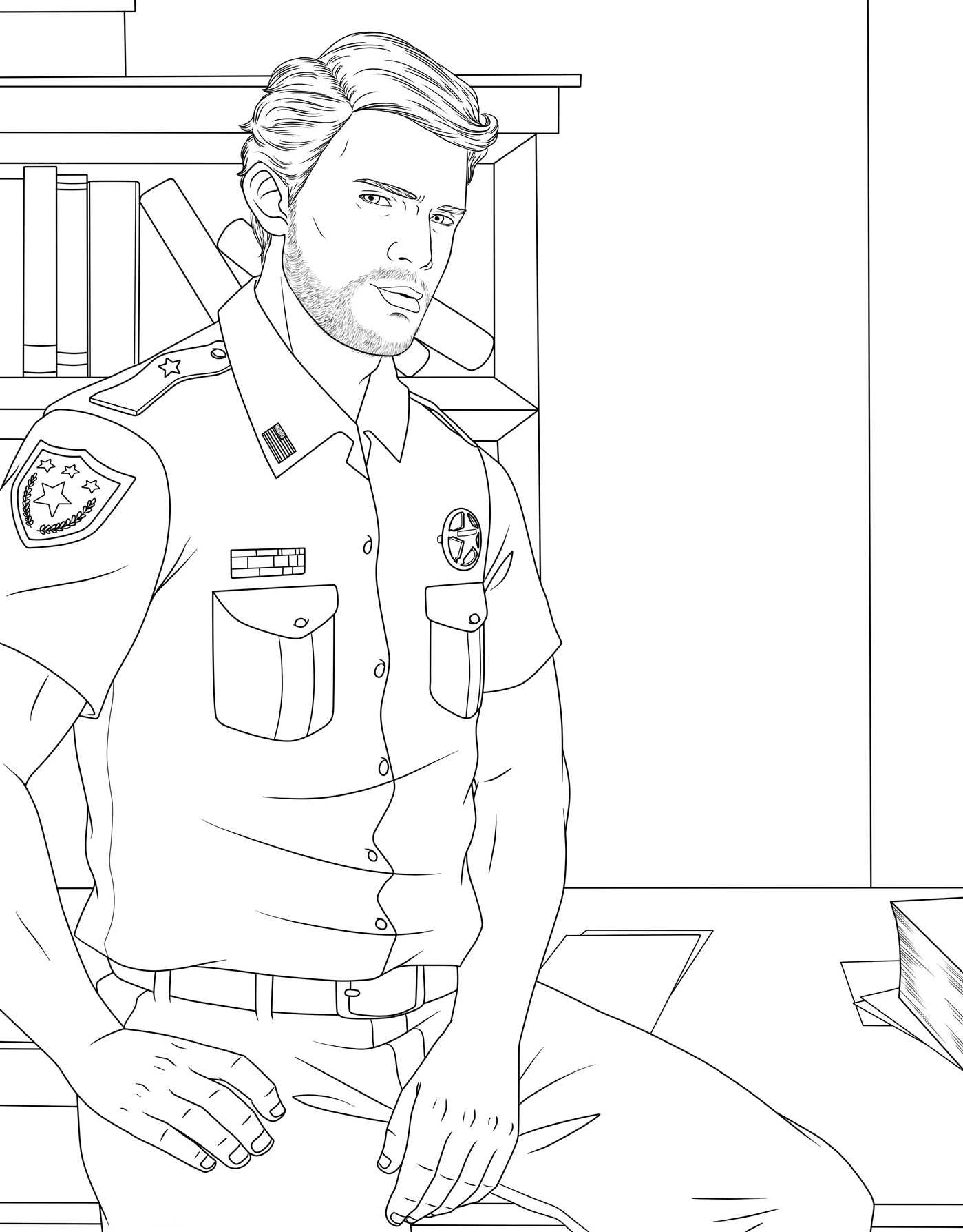 1399x1788 Coloring Pages For Men