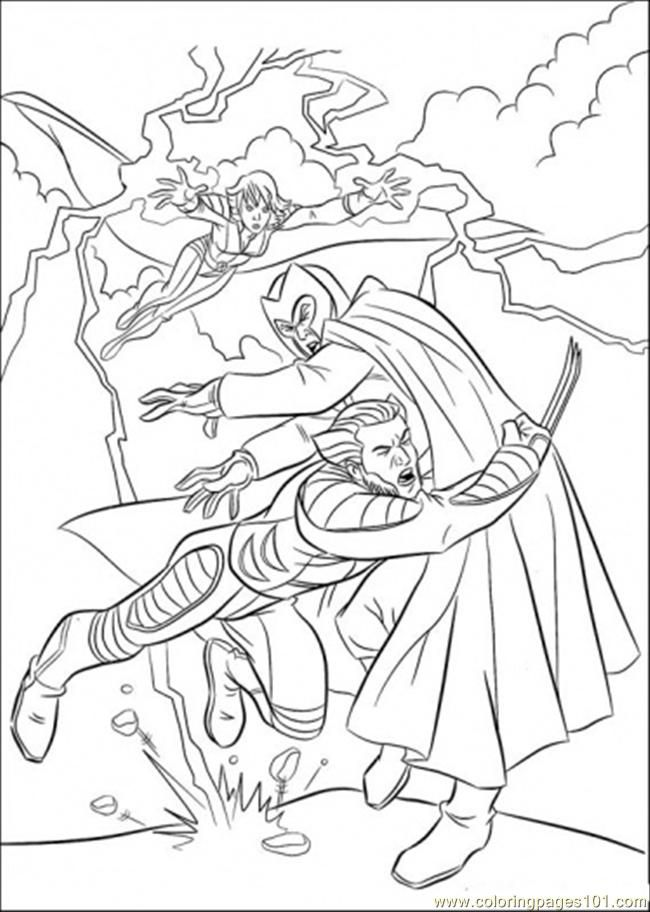 650x912 Best X Men Images On Colouring Pages, Coloring