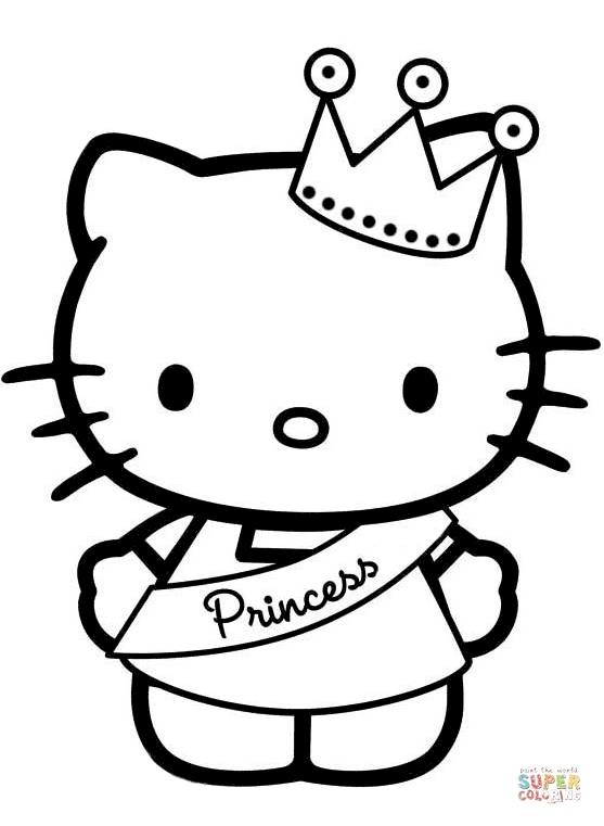 557x761 Printable Coloring Pages For Girls Hello Kitty