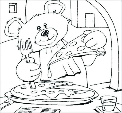 519x481 Restaurant Coloring Pages Community Coloring Pages Restaurant
