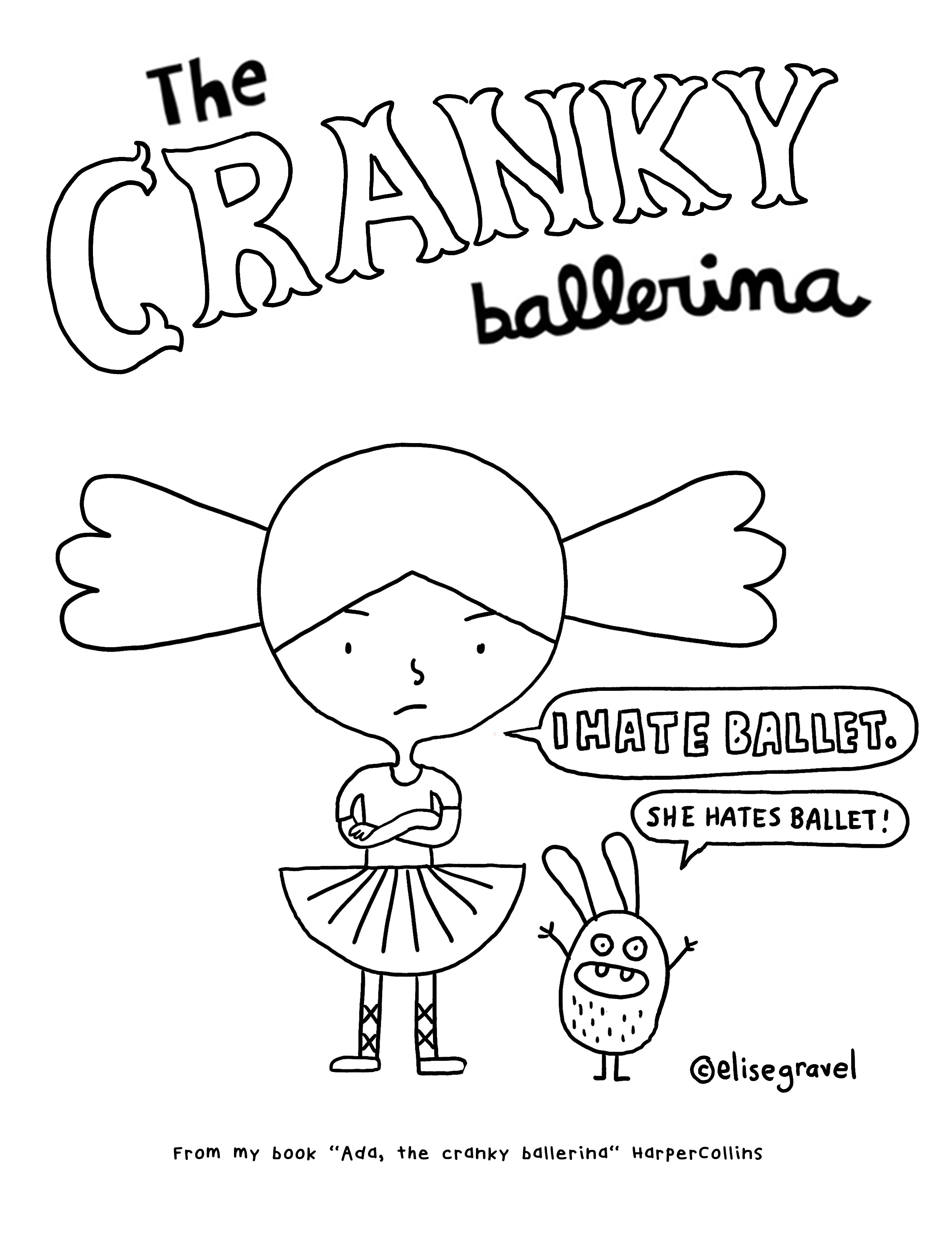 2550x3300 Coloring Pages Elise Gravel
